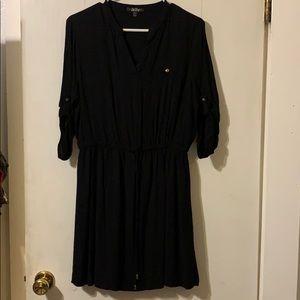 Lined women's casual dress